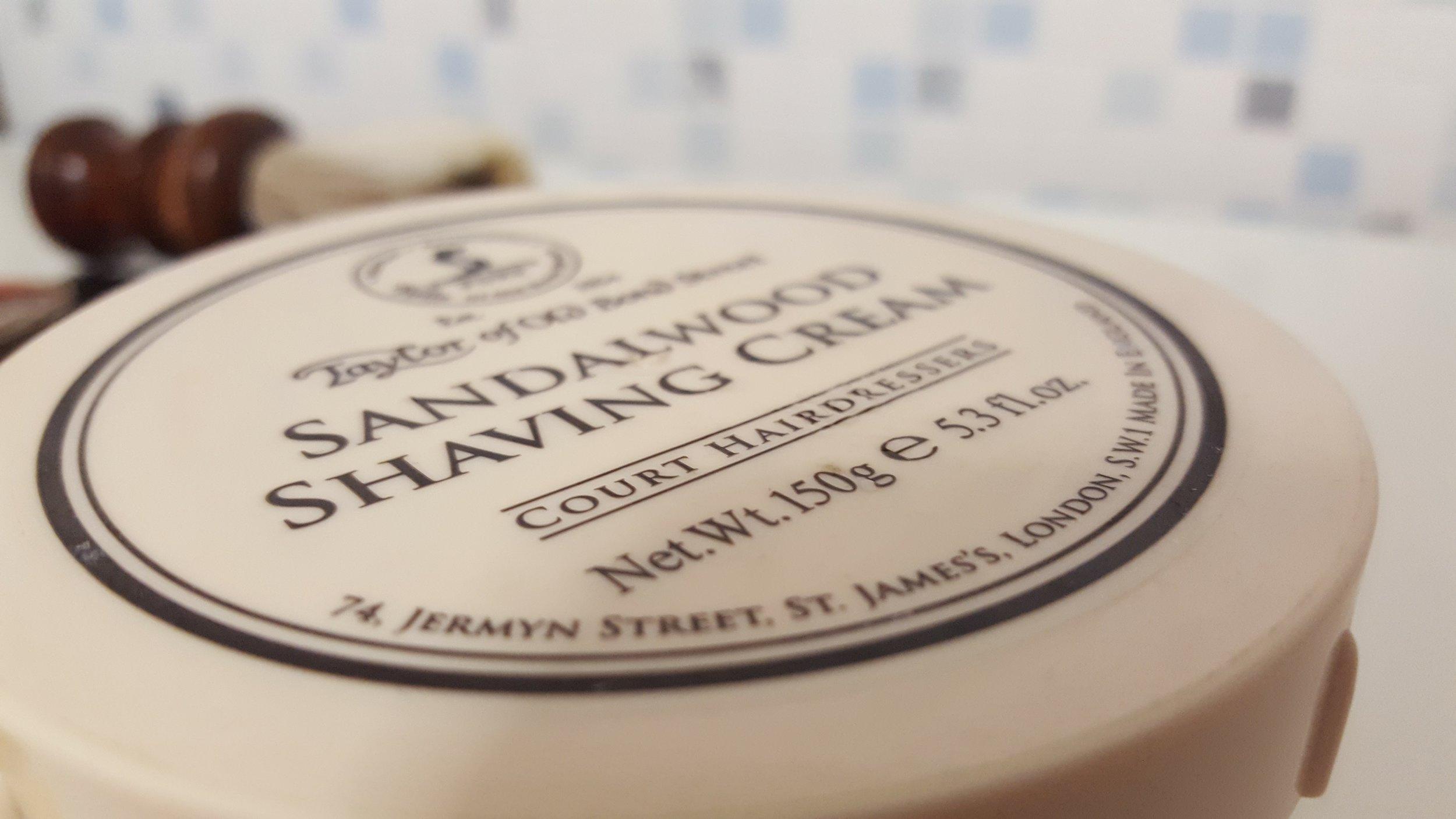 Shaving cream taylor of old bond street