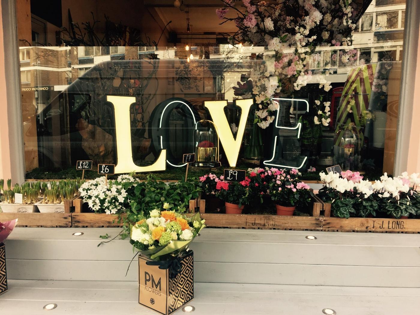 Prewett Miller Flower Shop. 53 Connaught Street