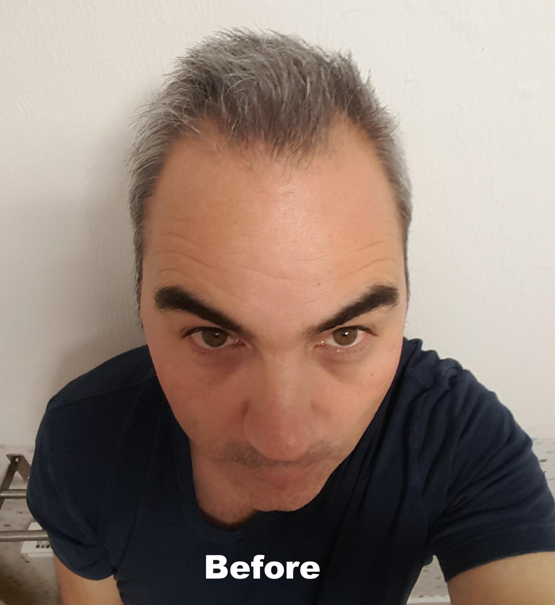 Control GX Shampoo before
