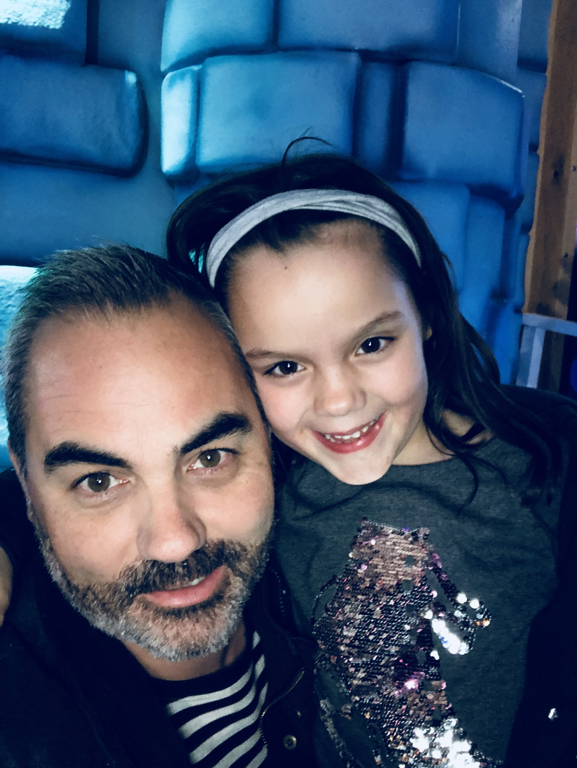 Me and my daughter Scarlett. December 2017