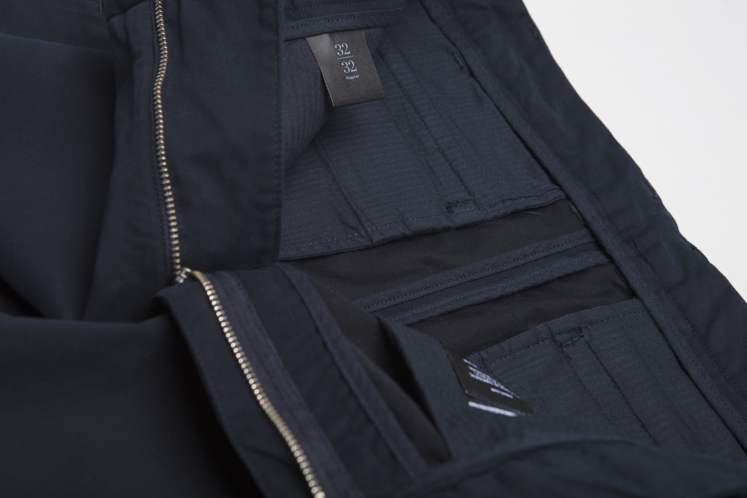 Navy Chinos by Asket
