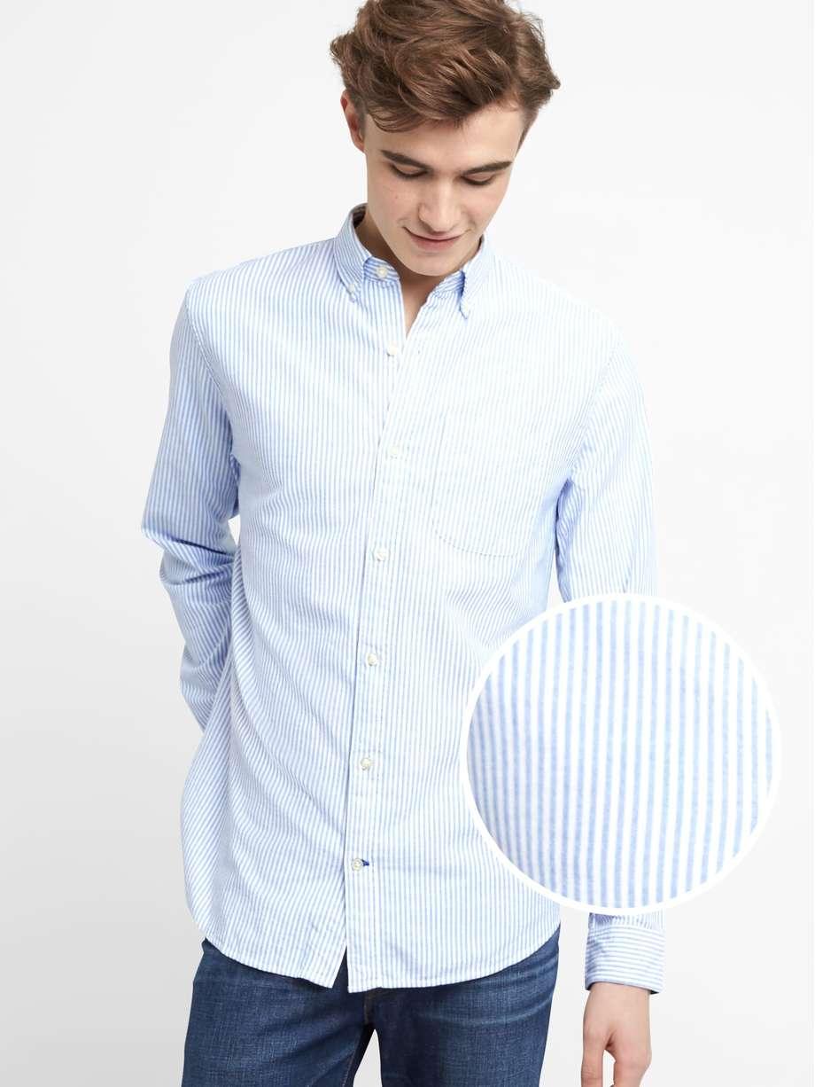 GAP: Oxford Shirt in Stretch £34.95