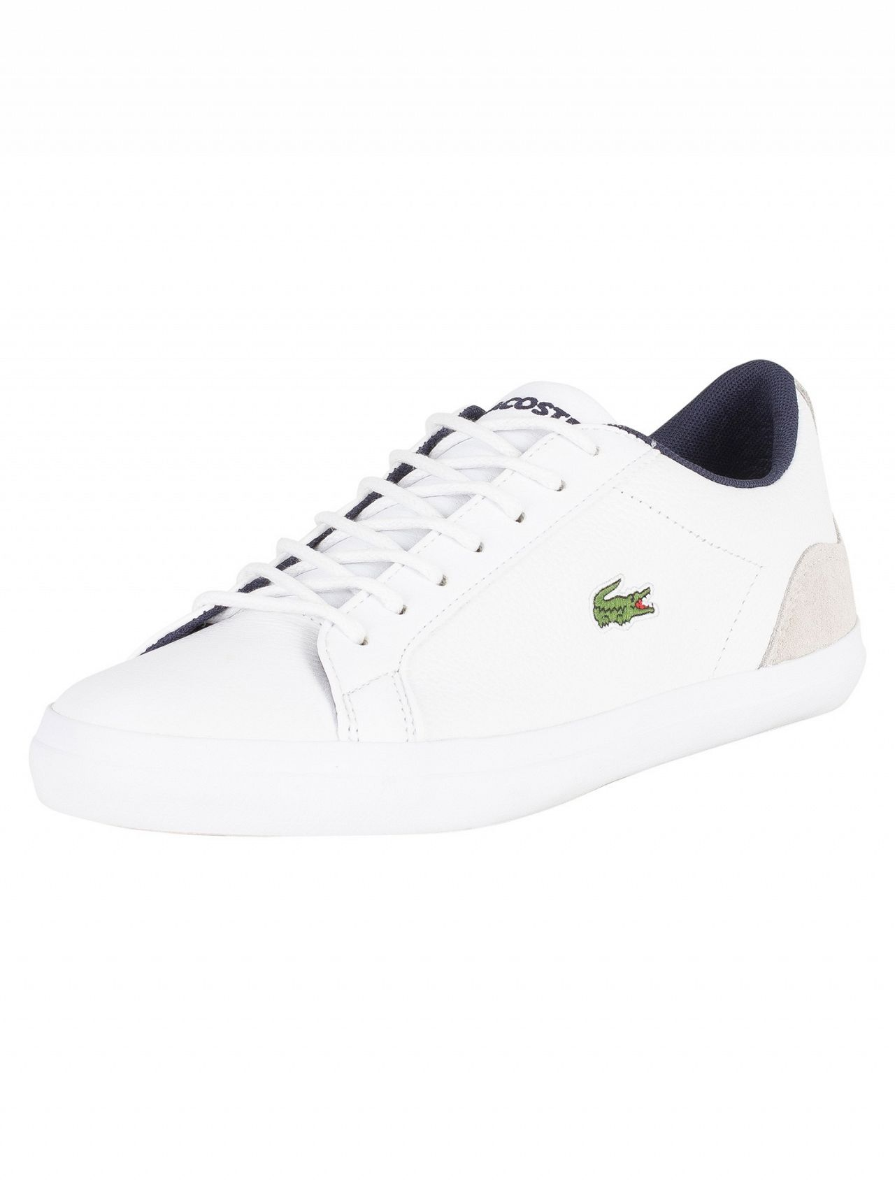 Lacoste White Trainers-Standout £69.95