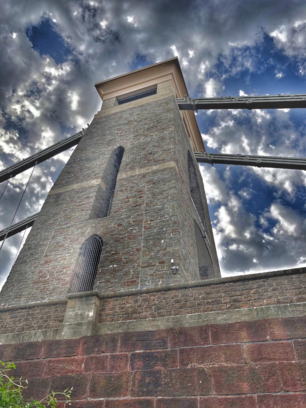 The iconic Suspension Bridge. Thanks Mr Brunel.