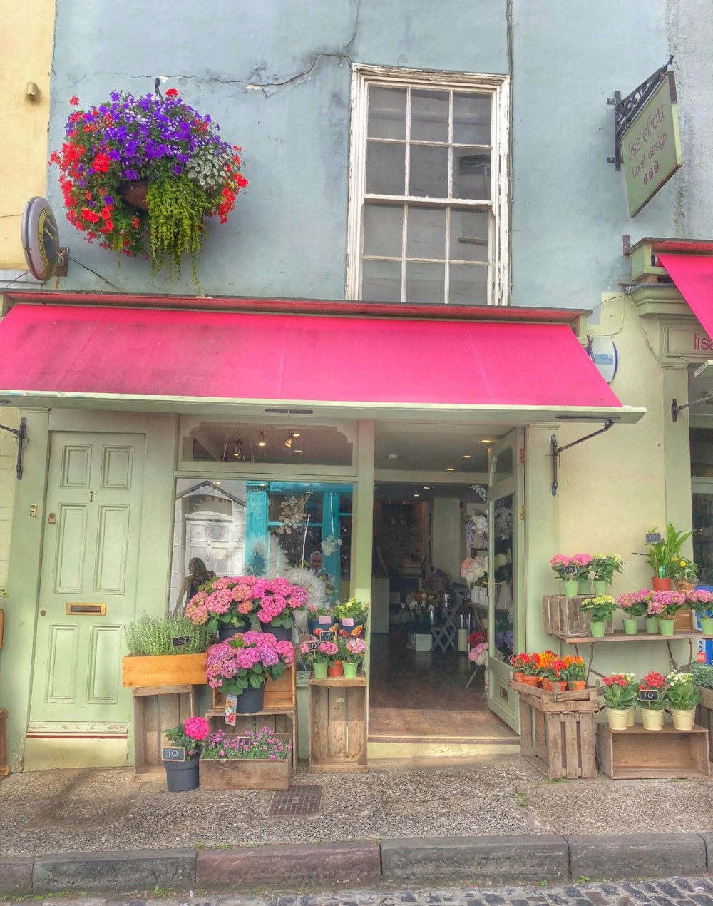 Amazing flower shop in Clifton Village. Just lovely.