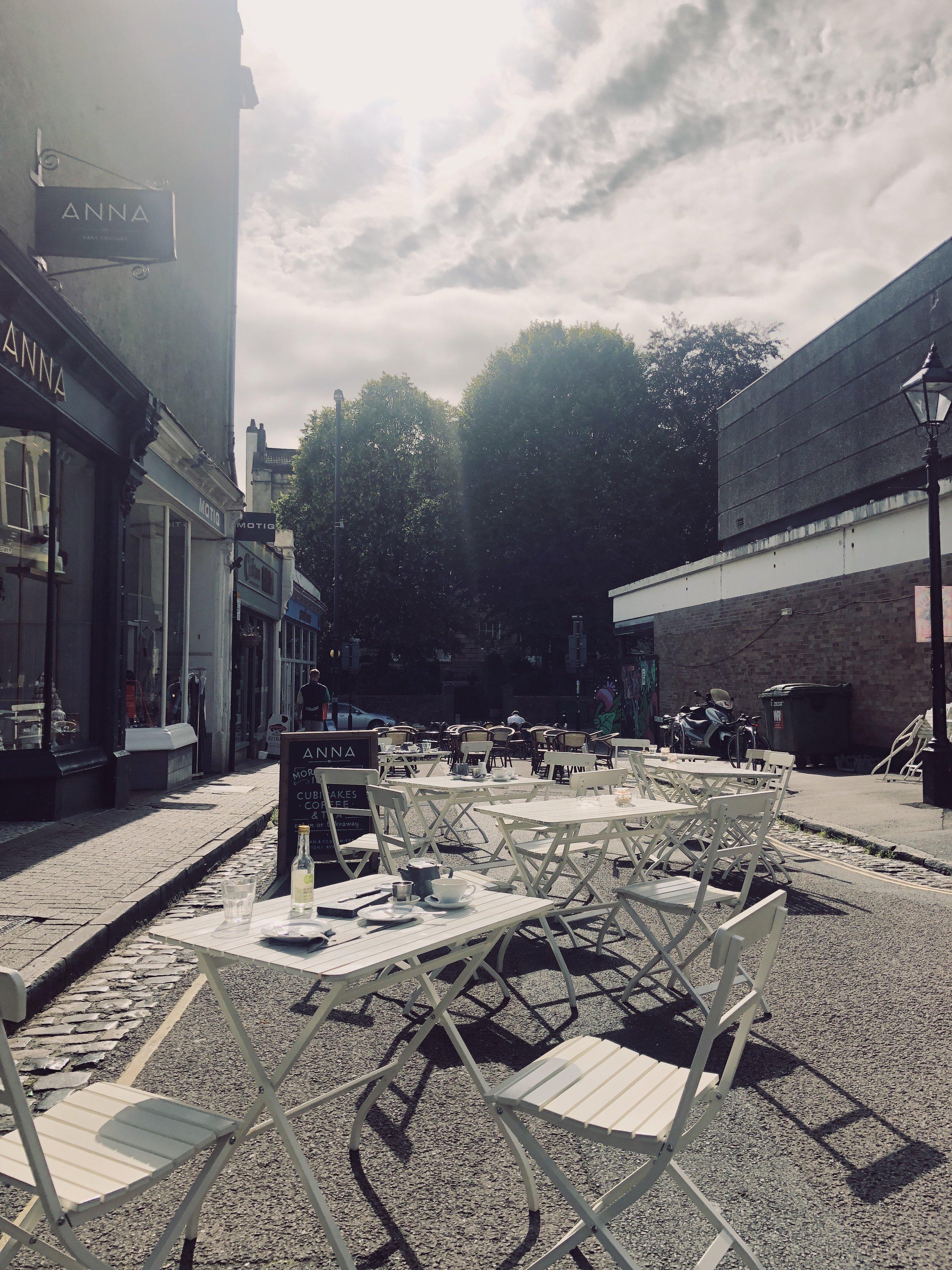 Cafe by Clifton Arcades
