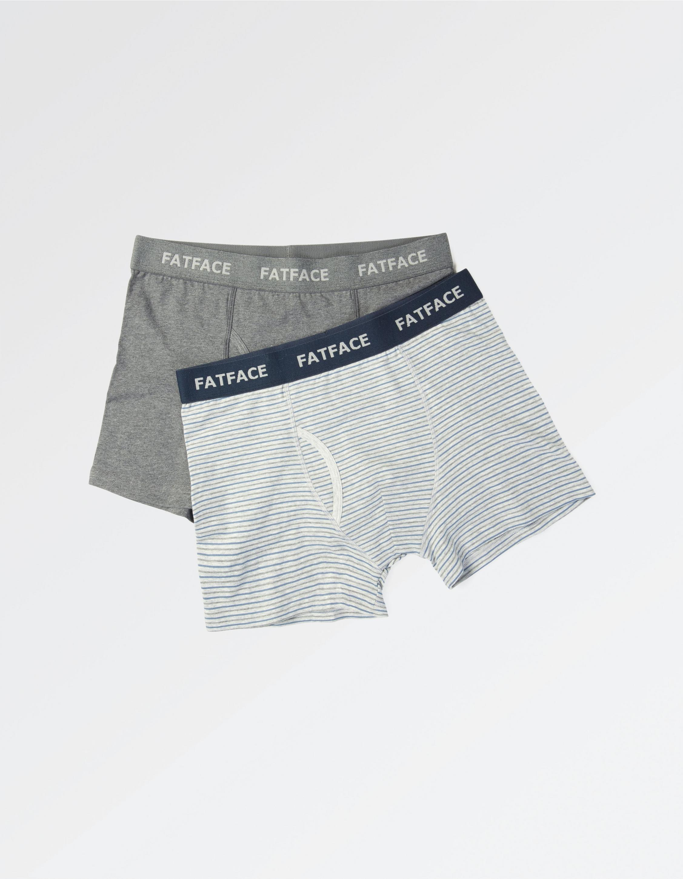 Two Pack Organic Boxers -