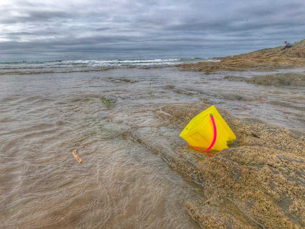 Between Barricane Beach and Woolacombe Beach (Check the Tide!!)