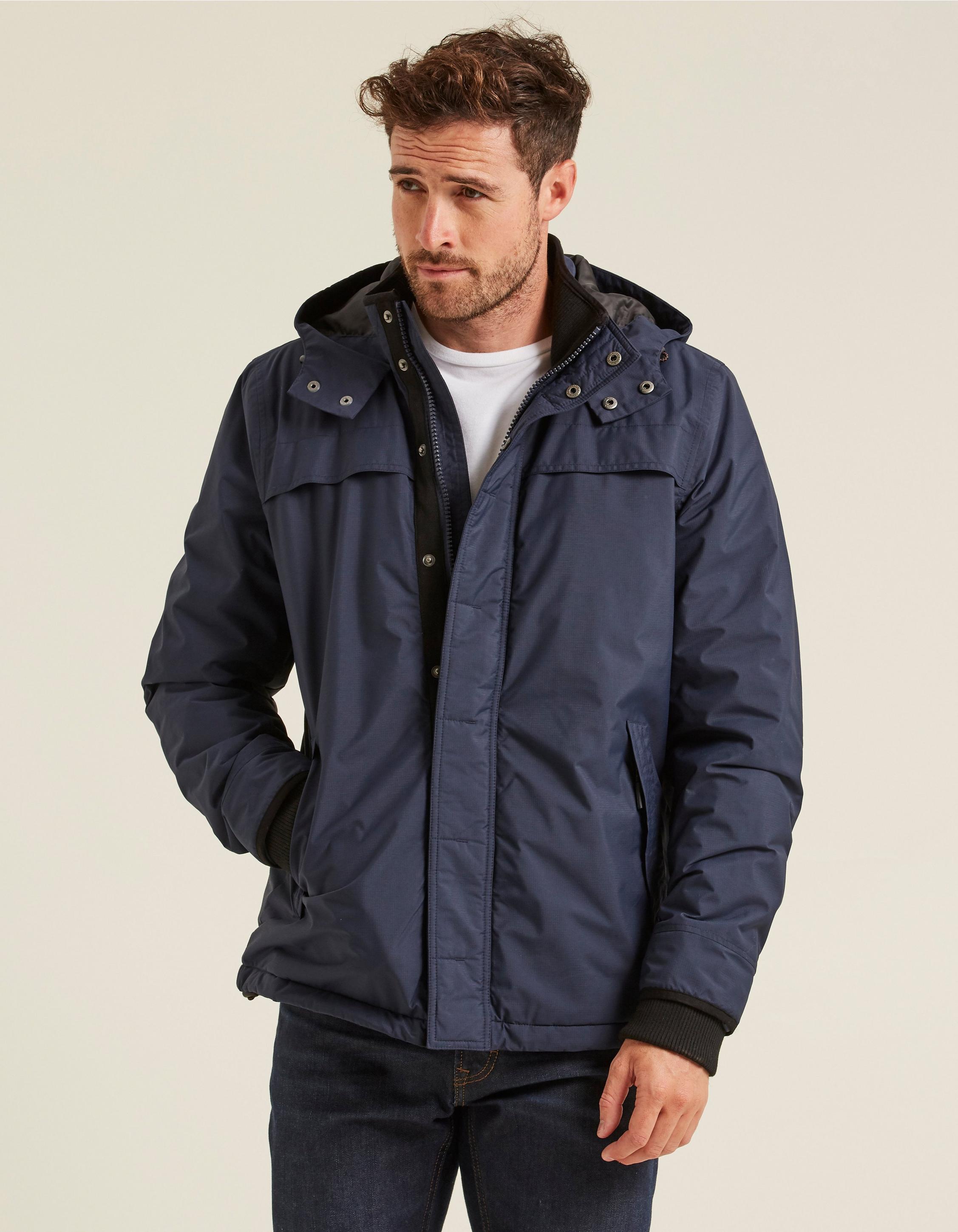 Fat Face Navy Barrier Jacket. £79.00
