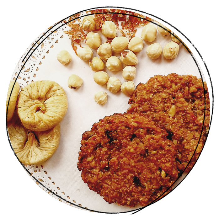 Sugar-, dairy- & wheat free cookies