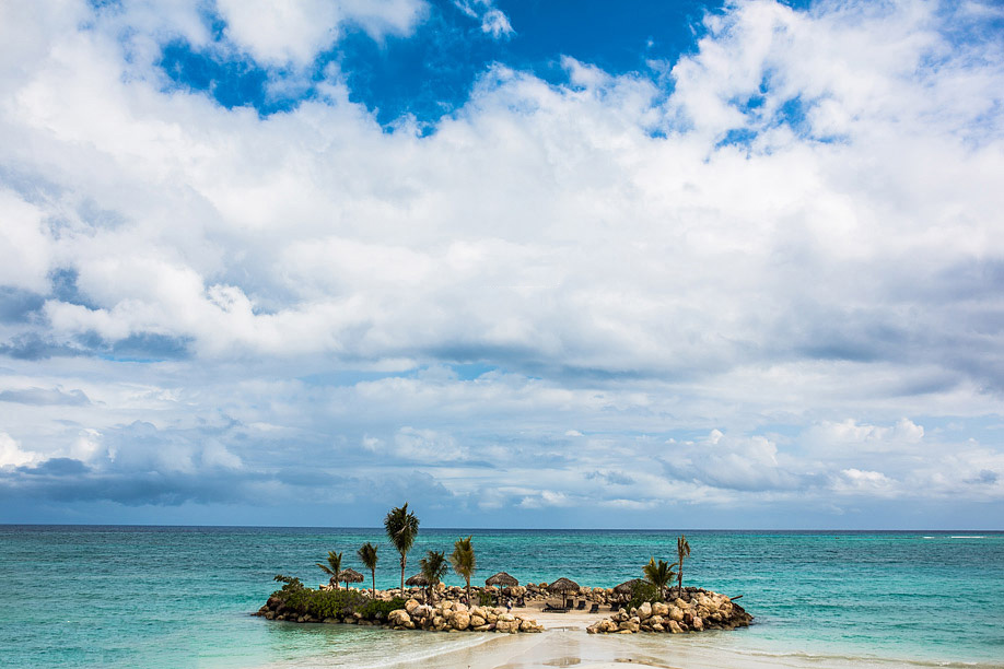 Destination Wedding at Rose Hall Great House, Jamaica Full Wedding Planning. Photos by Hoffer Photography