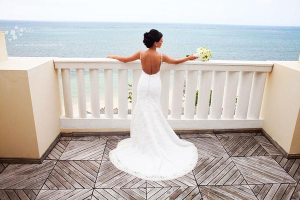 Wedding at Iberostar Rose Hall Grand. Photo by Laura Novak.