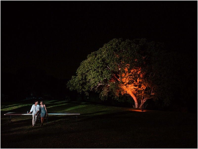a - Rose hall Great House Wedding - trees lit up 2.jpg