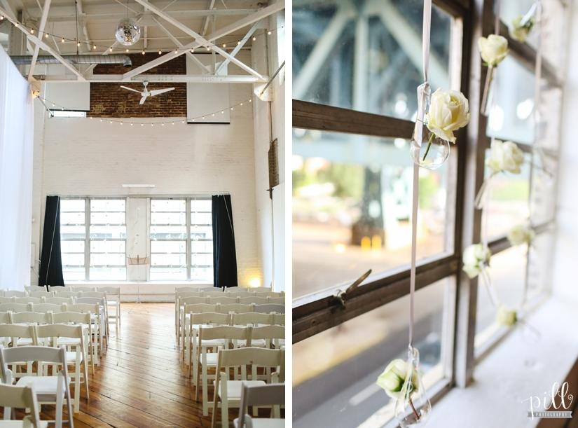 The Power Plant Wedding - ceremony