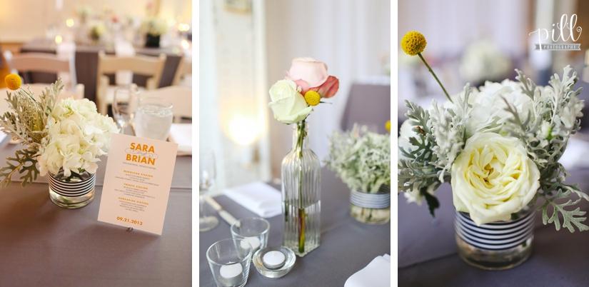 The Power Plant Wedding - flowers
