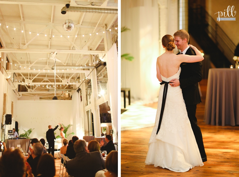 The Power Plant Wedding - first dance