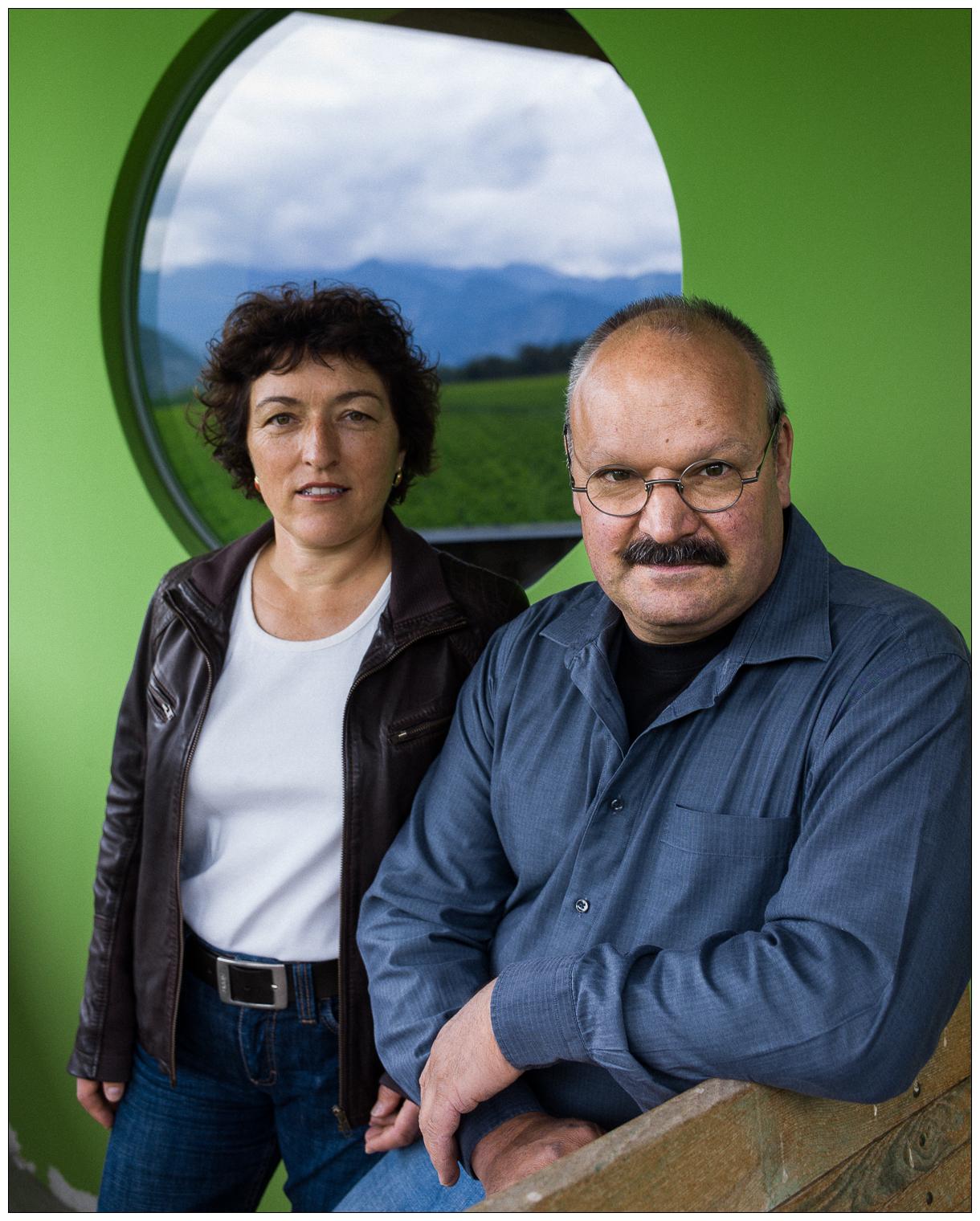 Martha et Daniel Gantenbein, vignerons