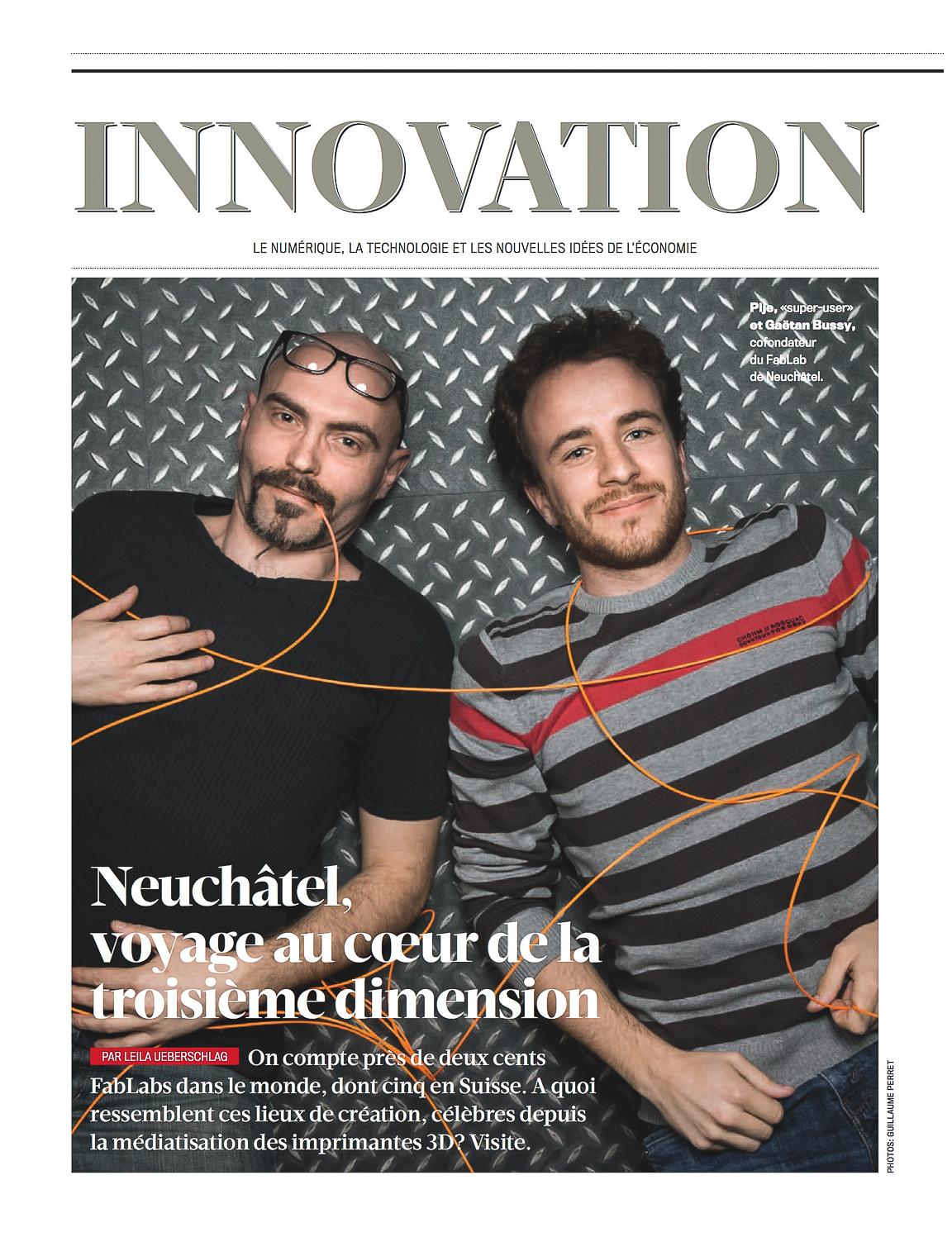 Bilan Magazine // Fablab