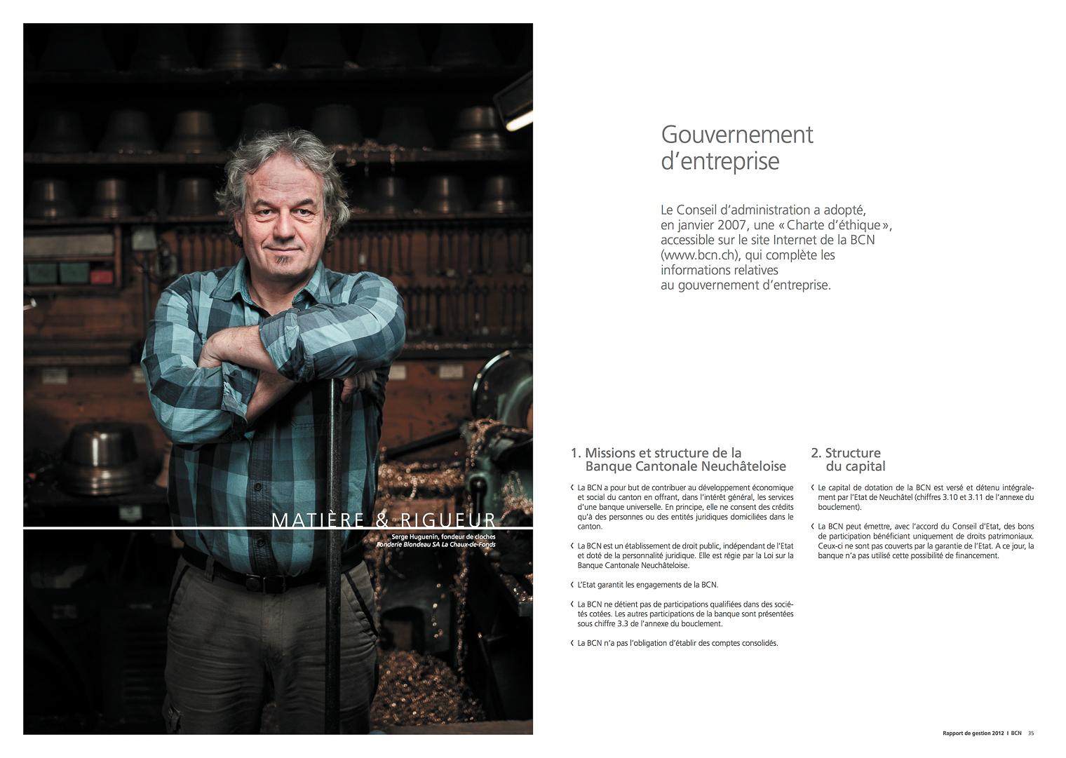 BCN // Rapport annuel 2012