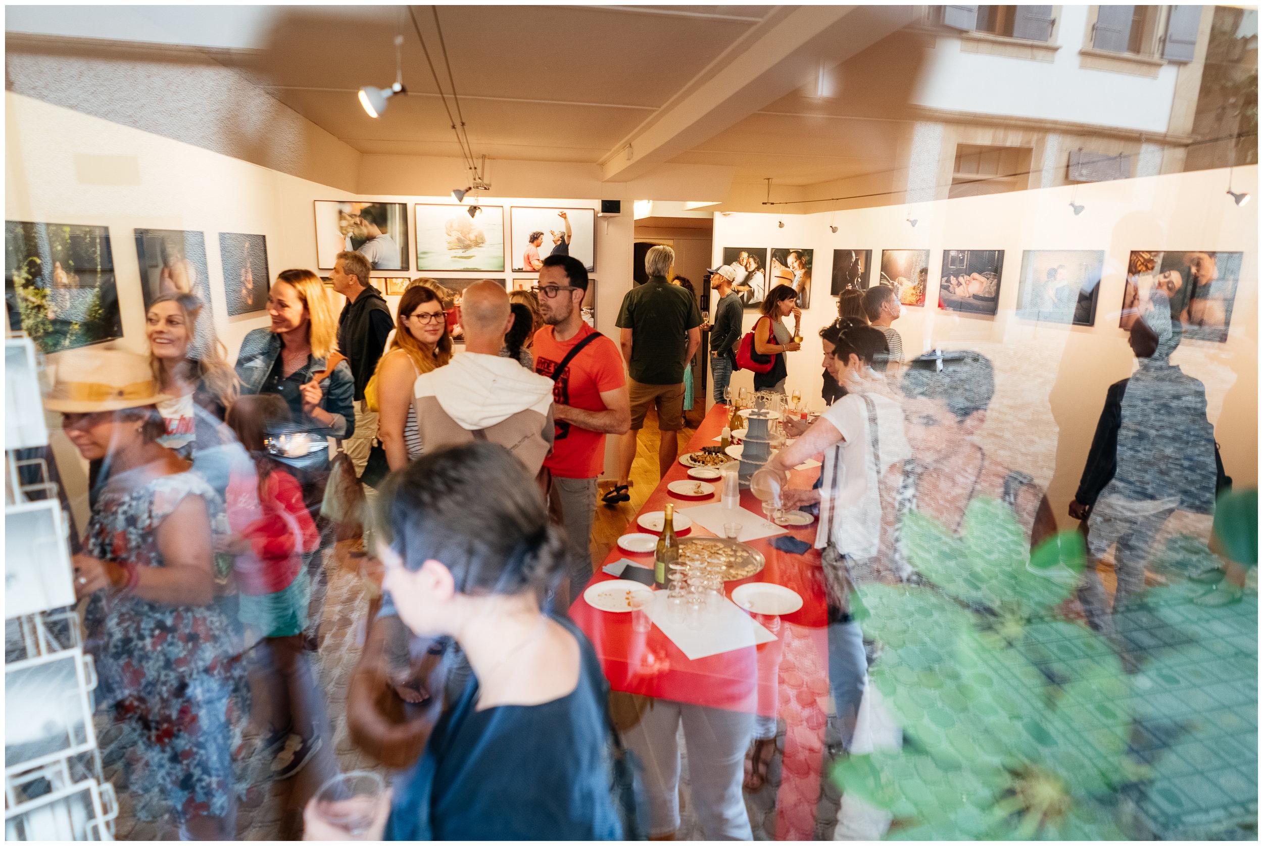 Vernissage à la galerie le 28 juin 2018 - Finissage en musique durant l'Auvernier Jazz Festival le 25 aout à 15h30