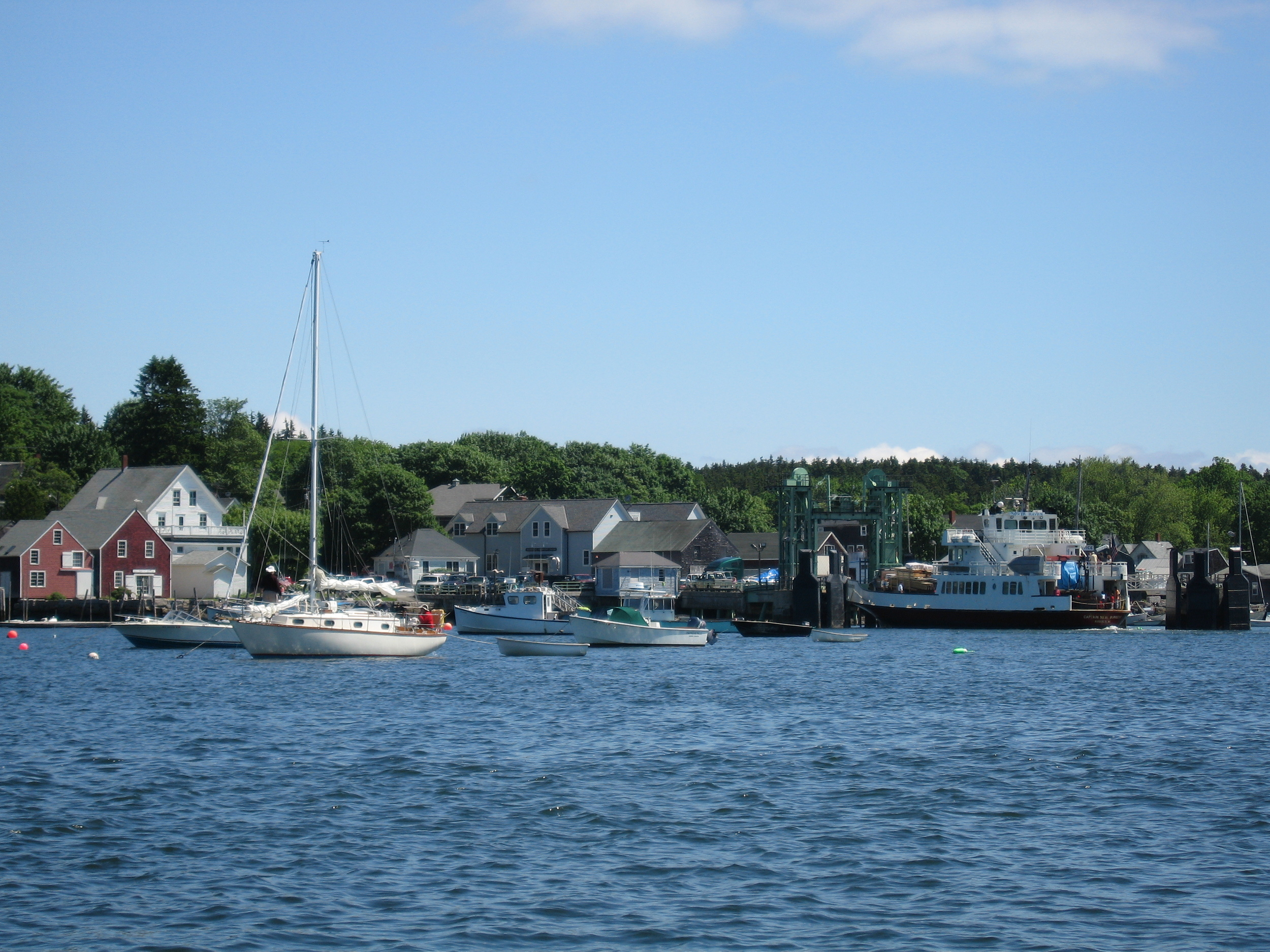 See the island on a peaceful sail, or go for an hour lobstering with a local fisherman.