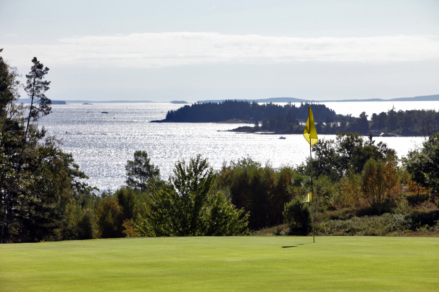 Play a round of golf at North Haven's spectacular 9-hole course.