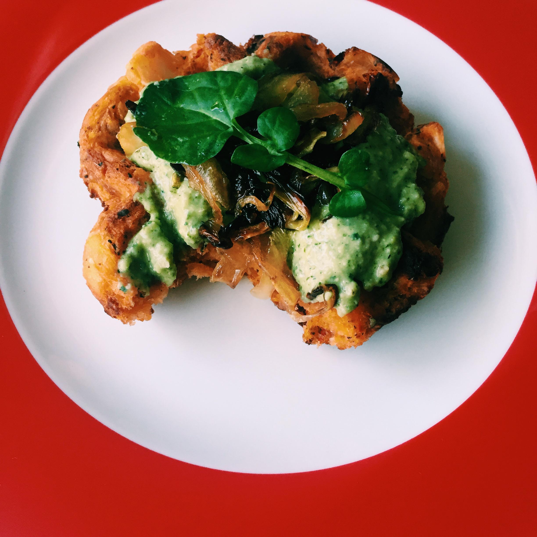 vegan watercress pesto