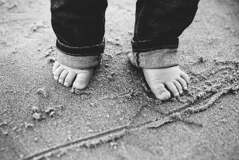 Aubreys feet