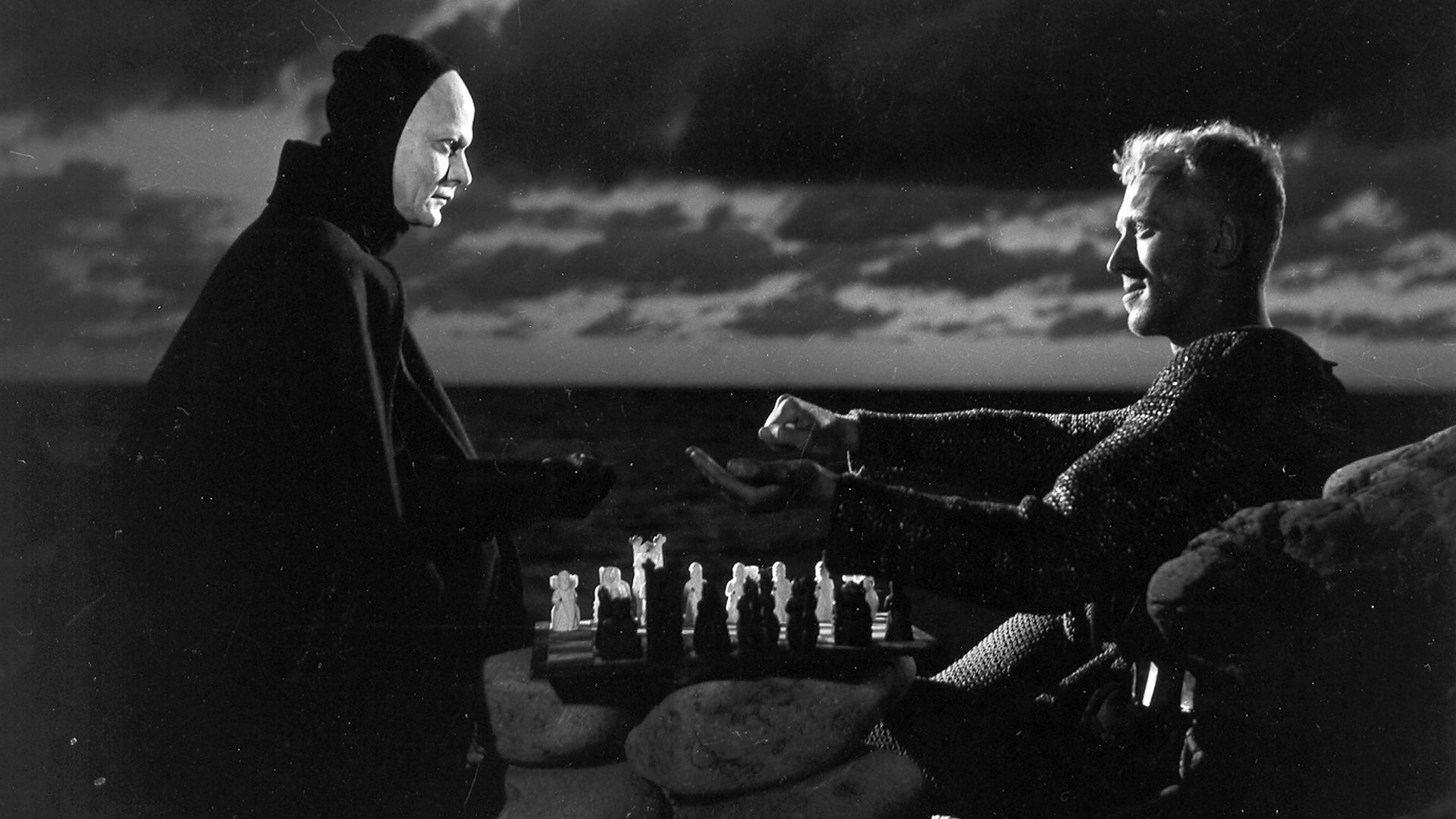 The Seventh Seal  - written and directed by Ingmar Bergman