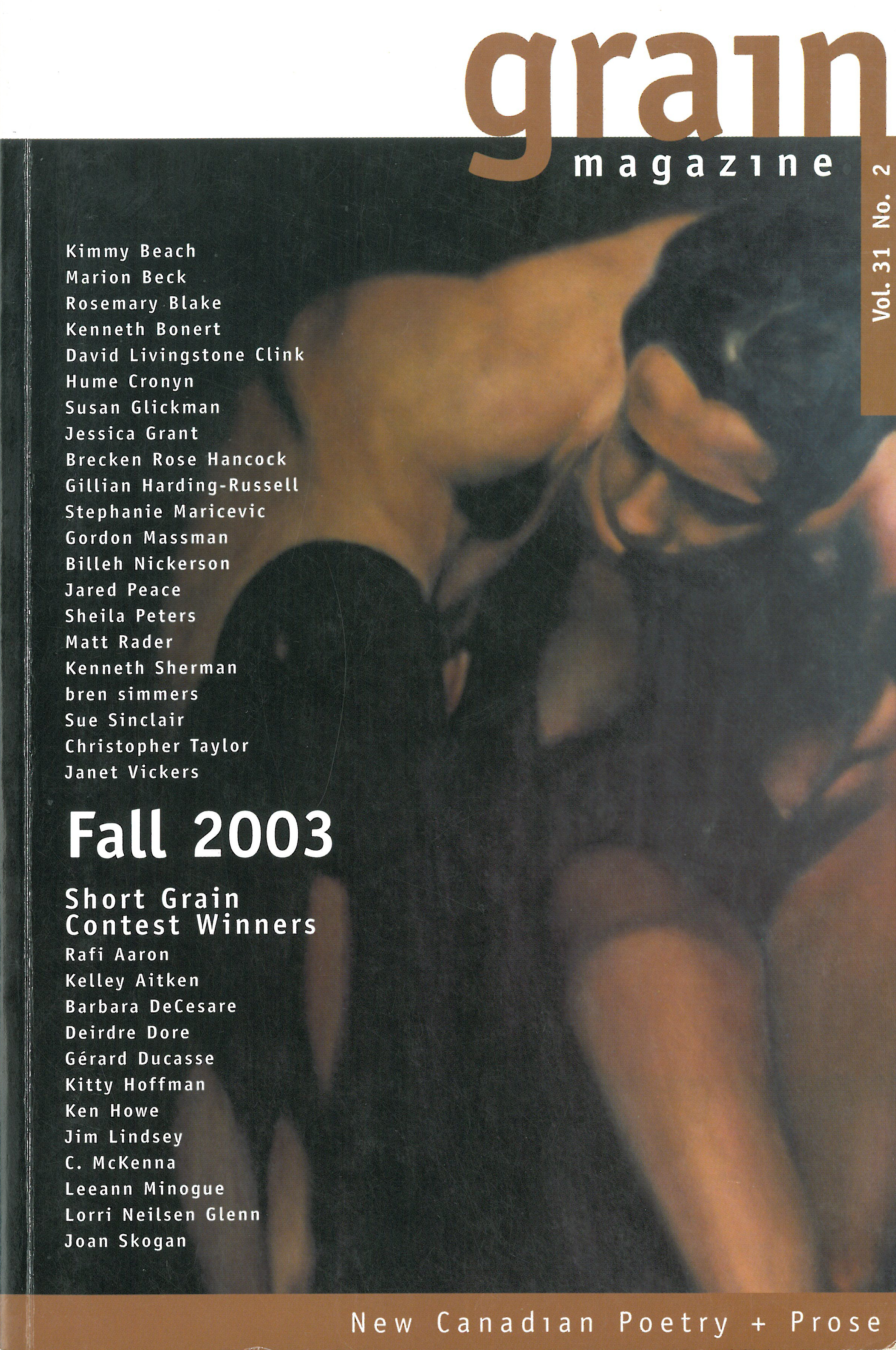 31.2 Fall 2003, Contest Winners