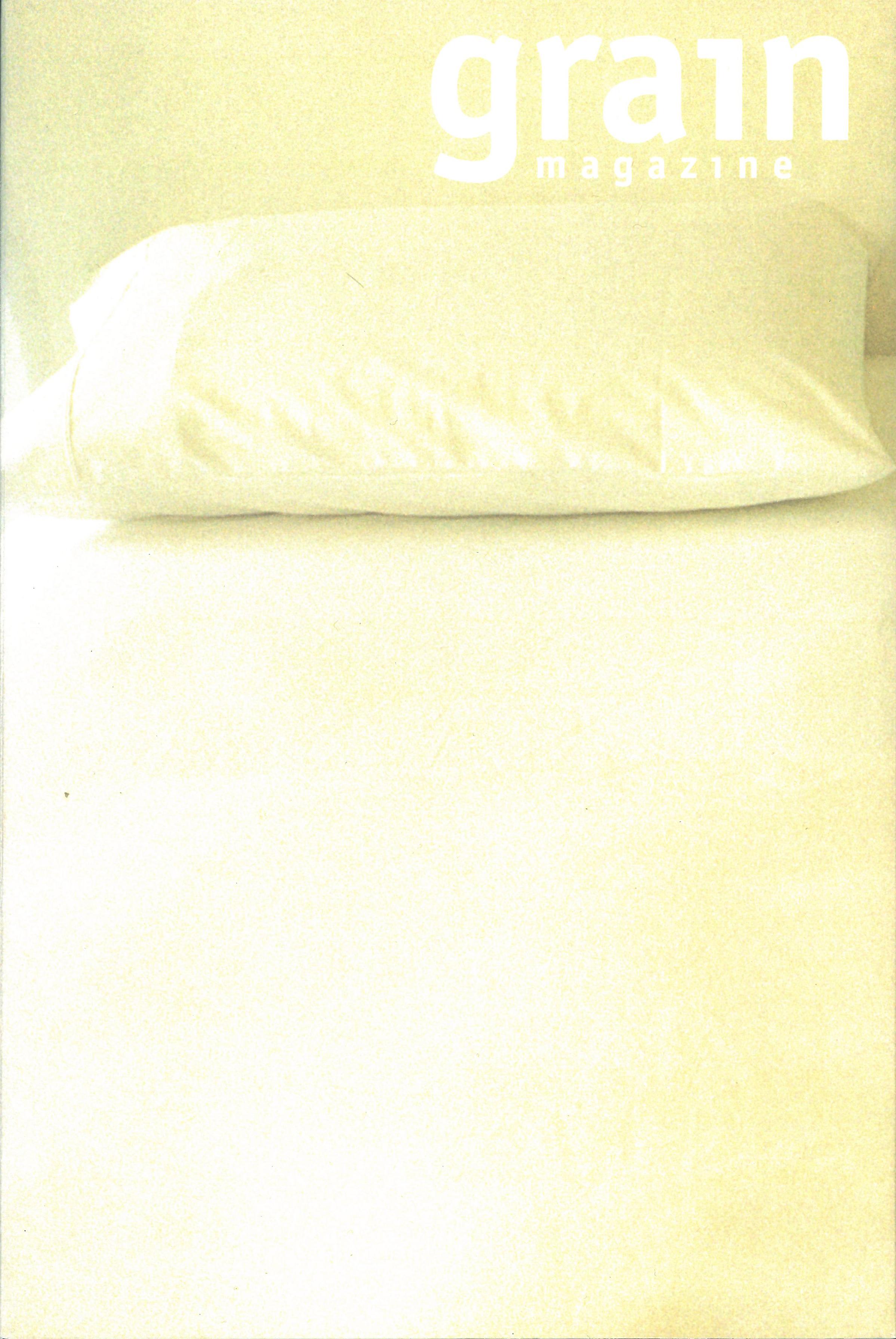 33.3 Winter 2006, Don't Fall Asleep (sleeve)