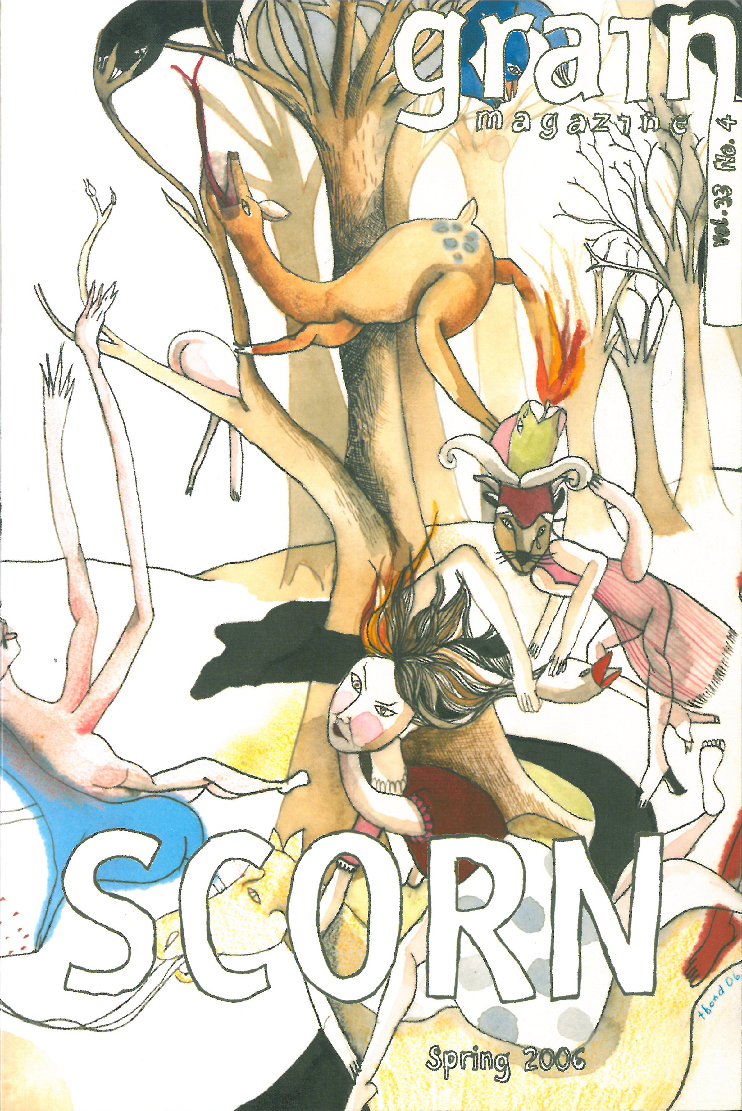 33.4 Spring 2006, Scorn  SOLD OUT