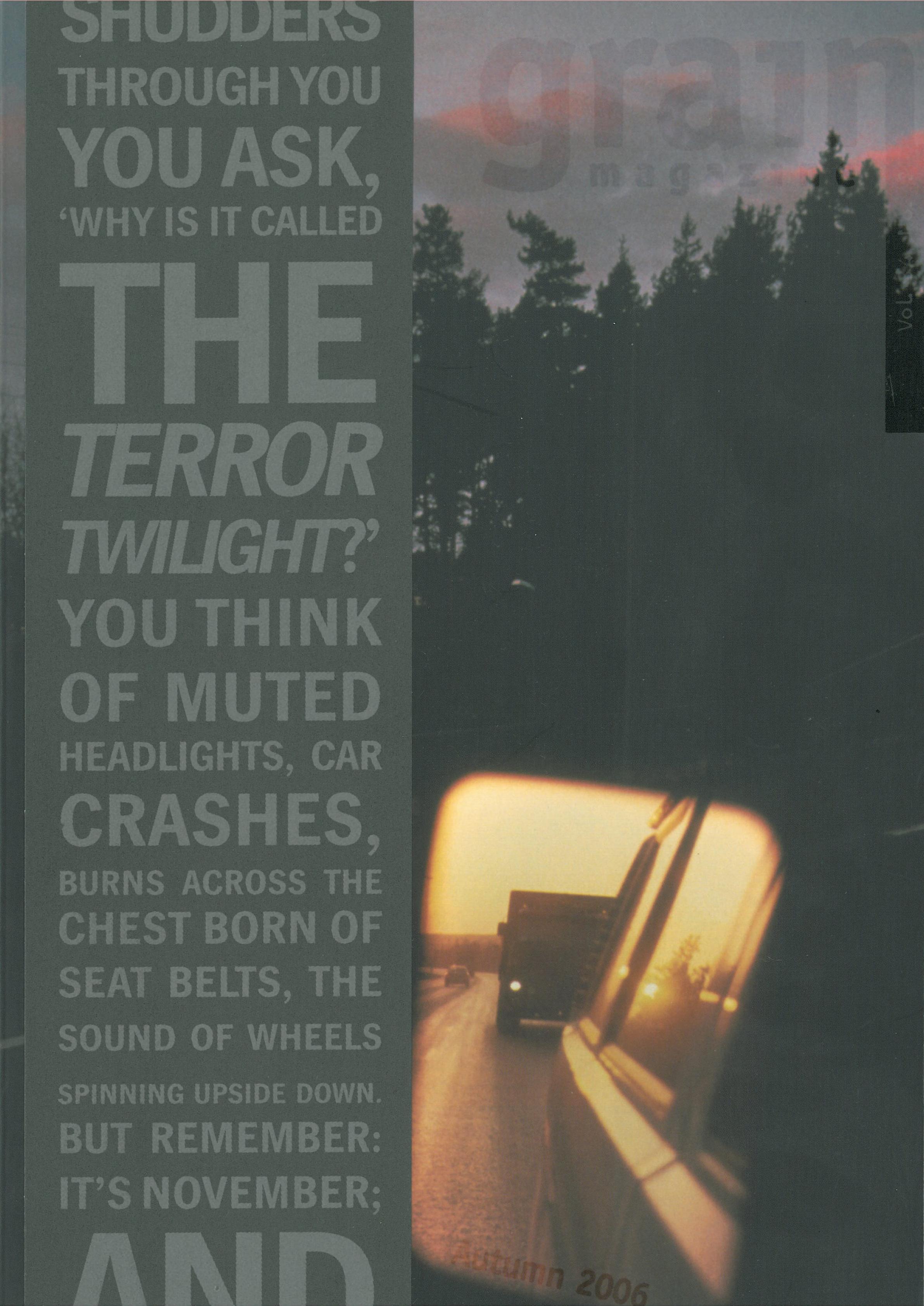 34.2 Autumn 2006, Twilight: Short Grain Contest