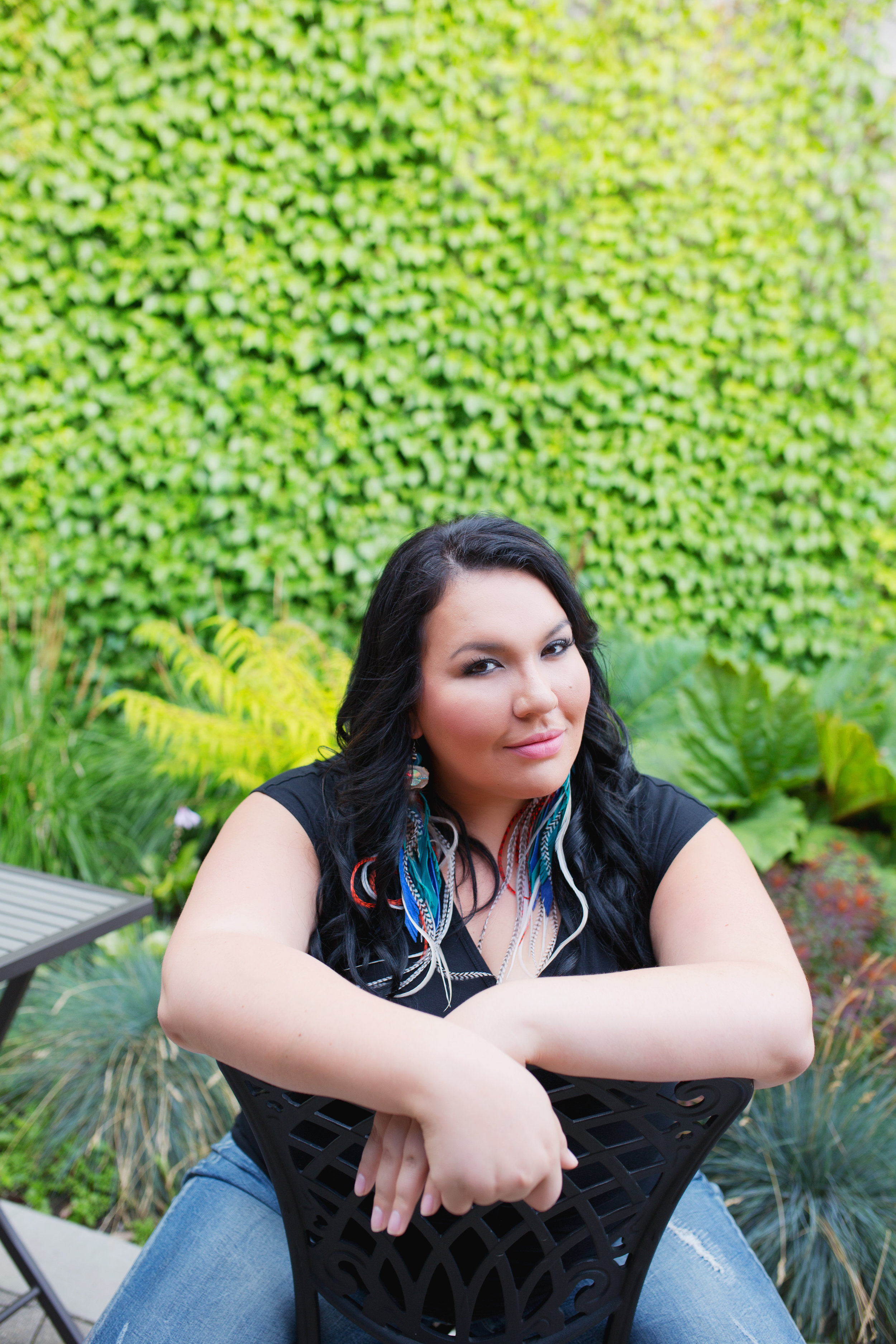 Tenille K Campbell, Poetry - Tenille K Campbell is a Dene/Métis author and photographer from English River First Nation in Northern Saskatchewan. She completed her MFA in Creative Writing from UBC and is enrolled in her PhD at University of Saskatchewan, focusing on Indigenous Literature. Her inaugural poetry book, #IndianLovePoems (Signature Editions 2017) is an award-winning collection of poetry that focuses on Indigenous Erotica—using humour, storytelling and sensuality to reclaim and explore ideas of Indigenous sexuality. #IndianLovePoems has placed in the poetry category in the WILLA Literary Awards (USA), as well as the first Indigenous Voices Awards (Canada), and has won two Saskatchewan Book Awards.image: Maki Fotos