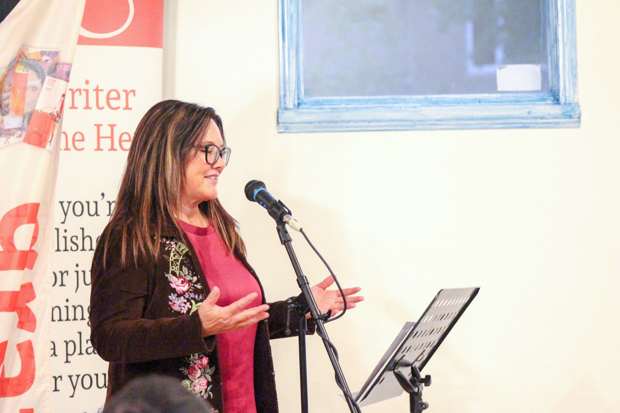 Our amazing host and Guest Fiction and Nonfiction Editor of the Indigenous Writers and Storytellers issue, Lisa Bird-Wilson