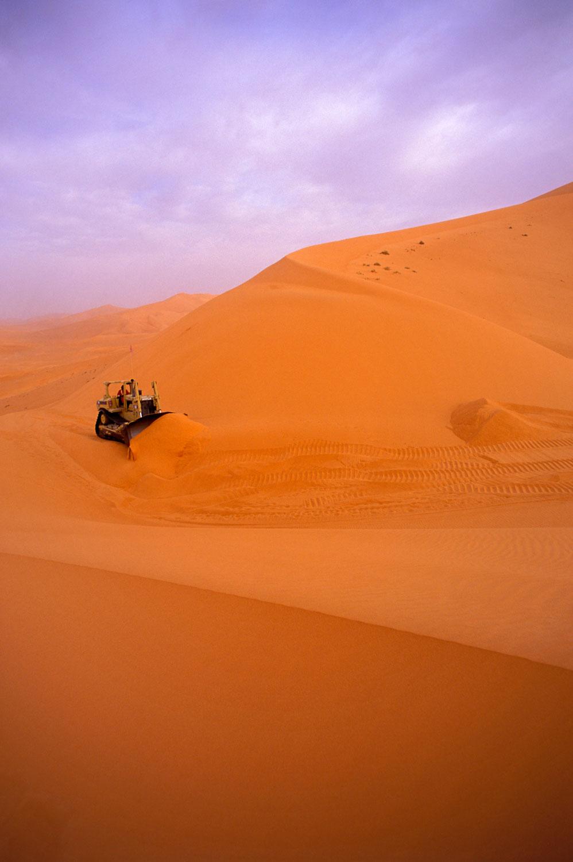 bulldozer in Sahara.JPG