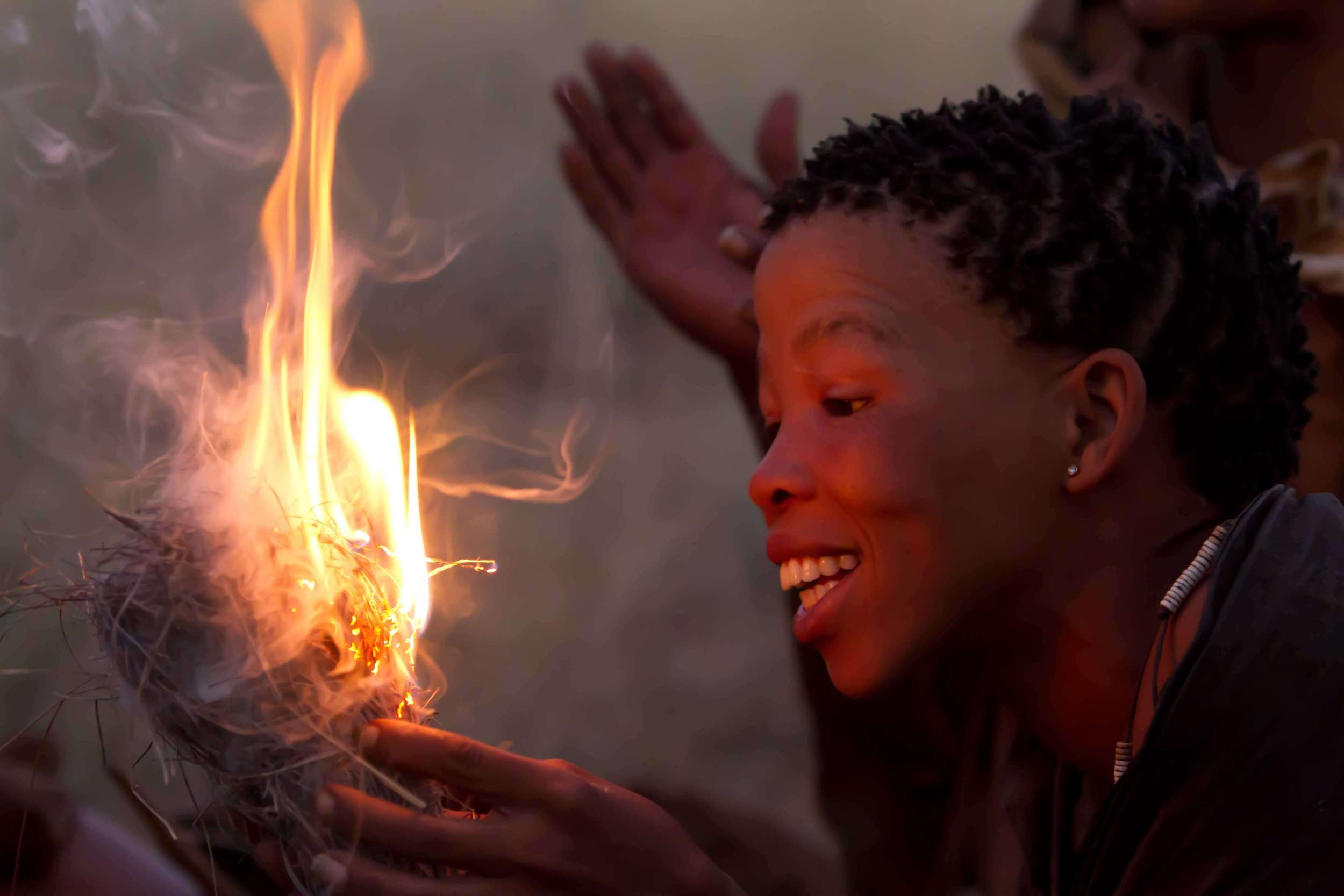Top  ©: David Coulson & the Trust for African Rock Art;  Bottom  © Dr Flash/Shutterstock.