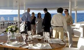 corporate yacht
