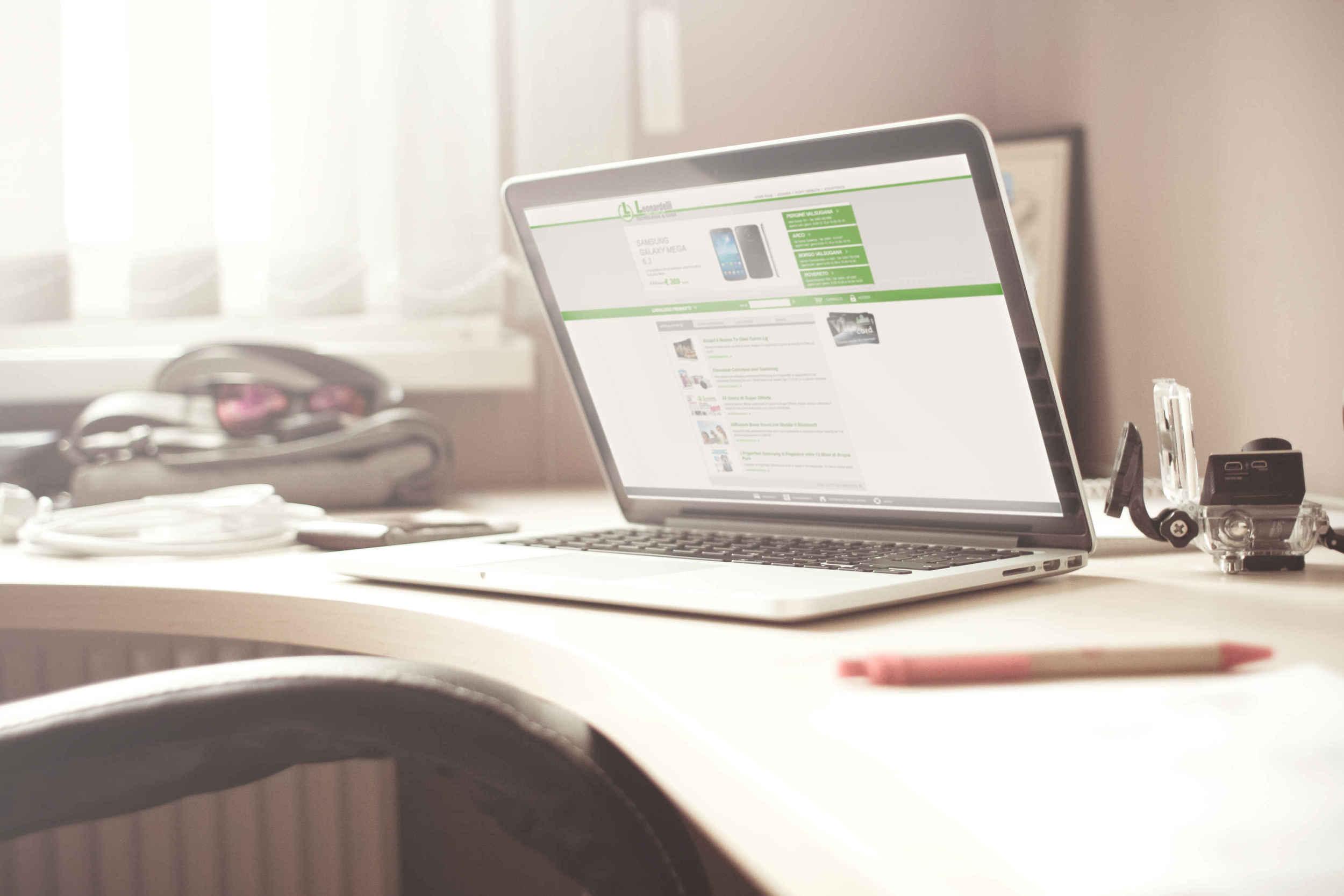 Leonardelli  Shop Online; Il progetto per l'e-Commerce