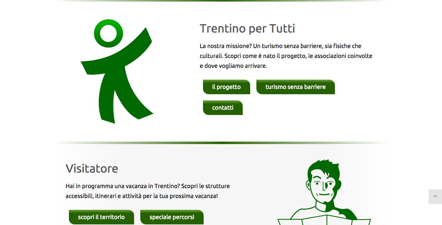Trentino per tutti il nuovo sito web del turismo accessibile in trentino