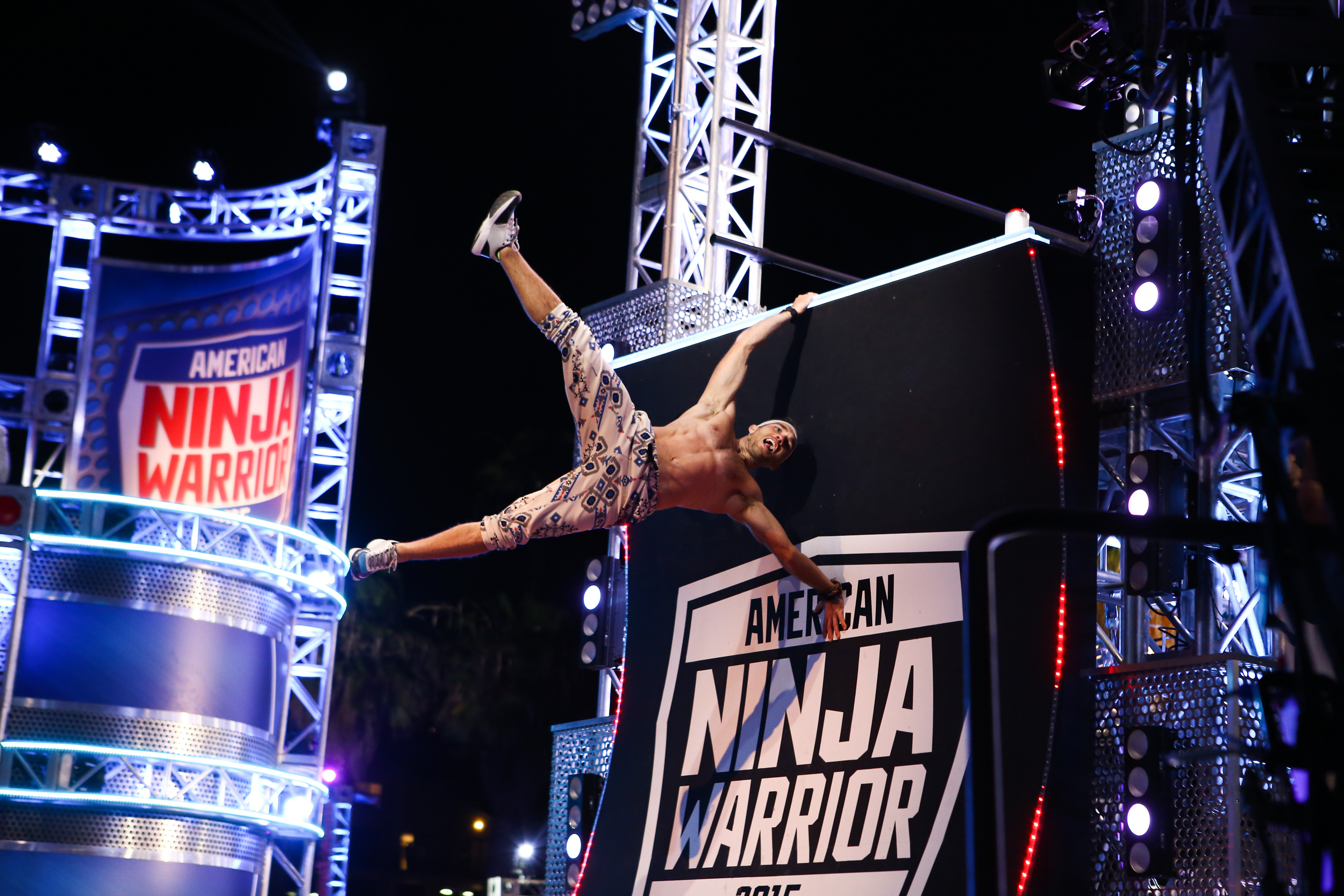 NBC's  American Ninja Warrior   | Season 7  Working as a behind the scenes and unit stills photographer, I photographed the athletes on the course and on the side lines to capture images for online and social media.