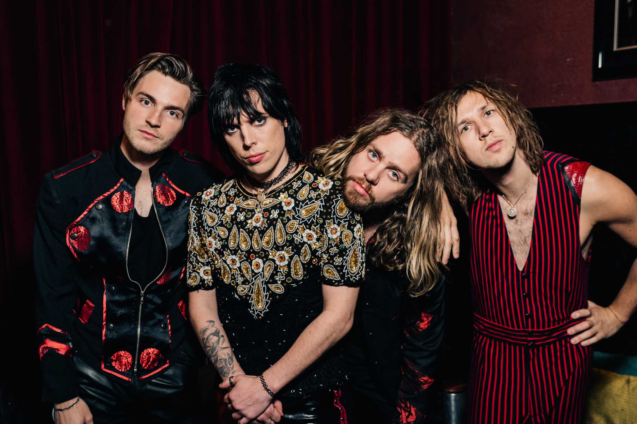 the struts backstage