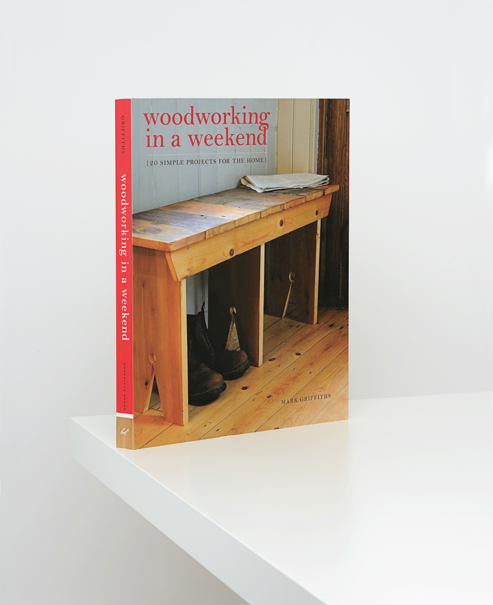 Woodwork in a Weekend. Commissioned by Ivy Press