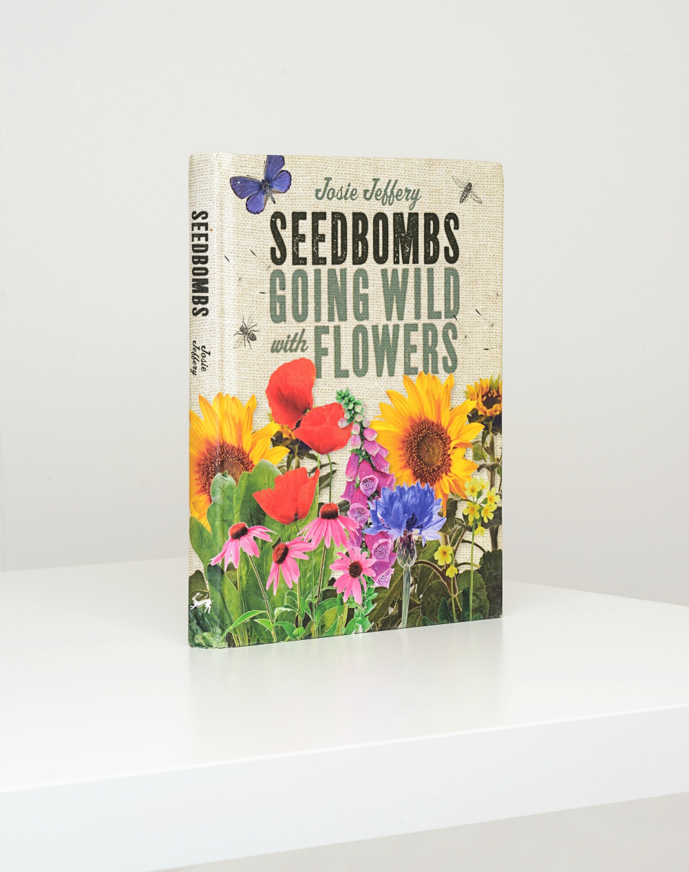 Seedbombs Going Wild with Flowers.  Commissioned by Ivy Press