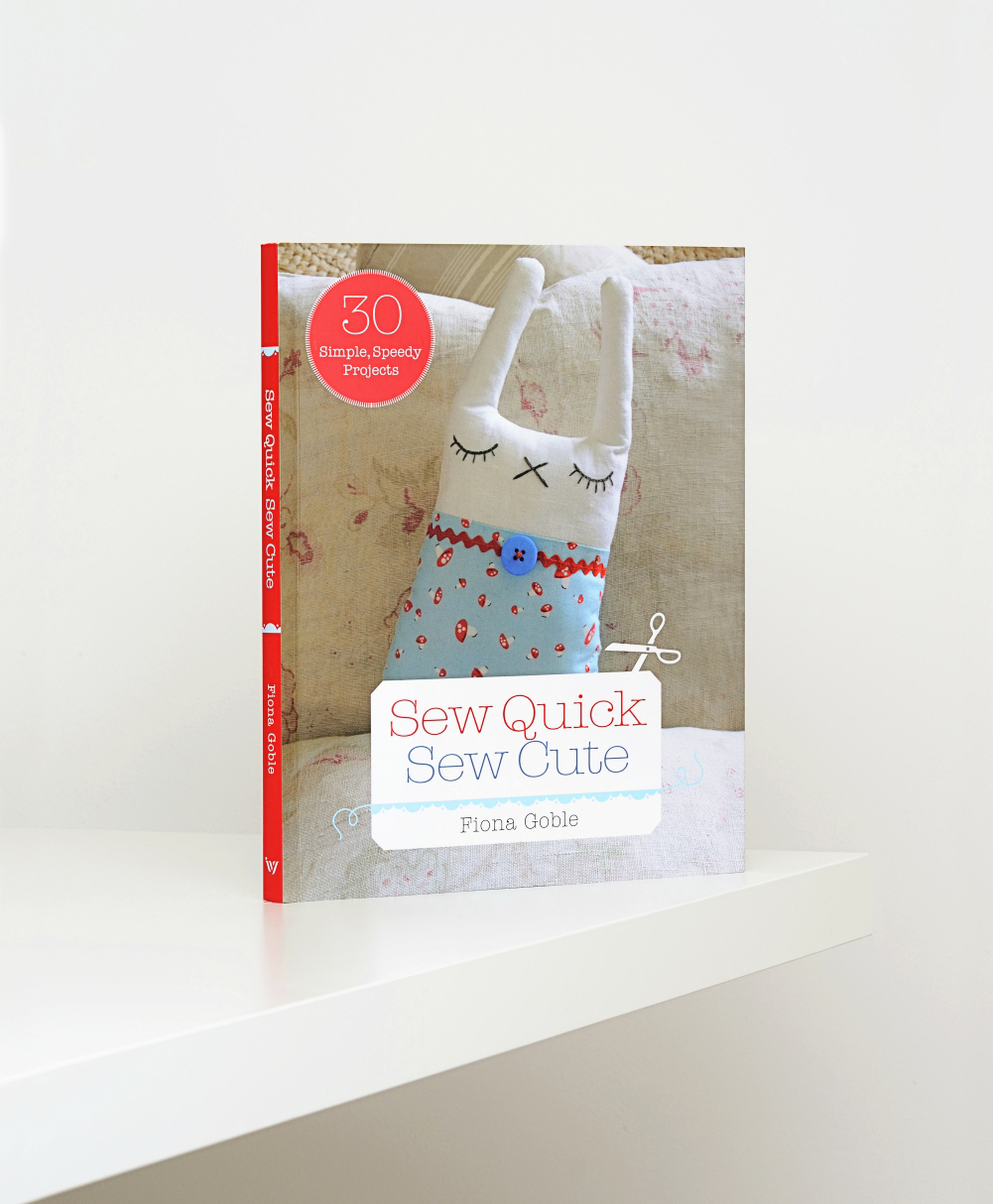 Sew Quick Sew Cute.  Commissioned by Ivy Press