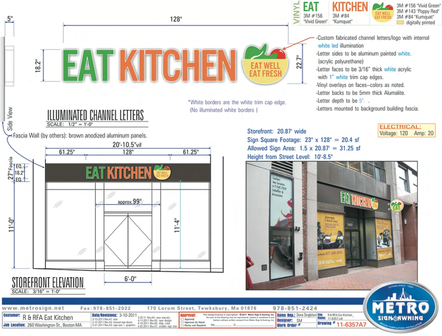 Metro Signs_Specs_Eat Kitchen
