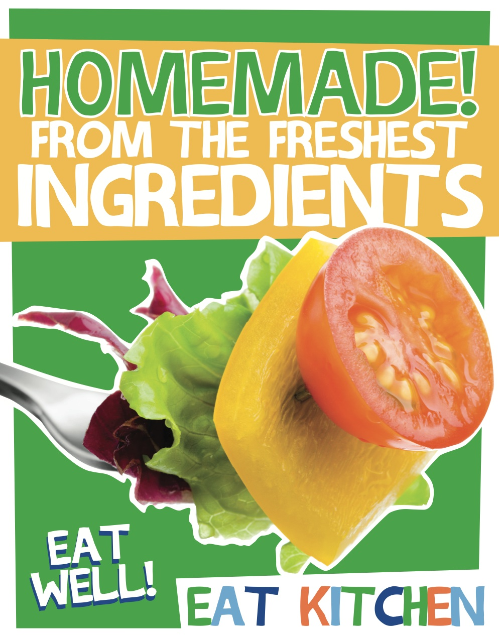 Eat Kitchen_Homemade Poster