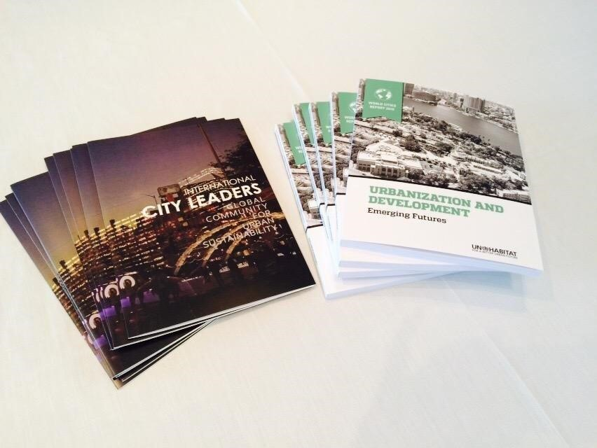 International City Leaders was UN-Habitat's main partner in preparing the World Cities Report 2016