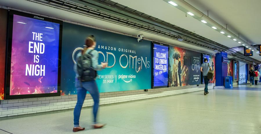 London Waterloo Tunnel Wrap
