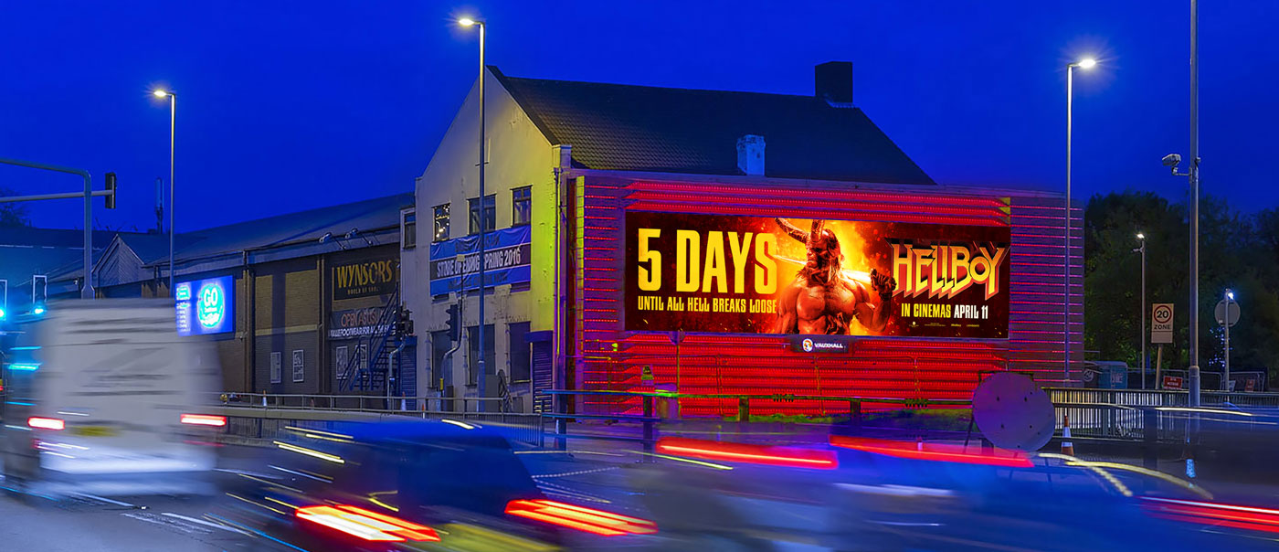 DOOH 5 Day Countdown To Launch